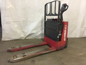 2014 Raymond Pallet Jack Excellent Condition Buy With Confidence 24v Electric