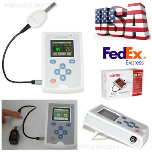Separated Spo2 Simulator Oxygen Saturation Pulse Rate Simulation Patient State