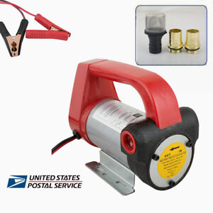 12v Diesel Biodiesel Kerosene Pumpcast Fuel Oil Transfer Extractor Pump Industry