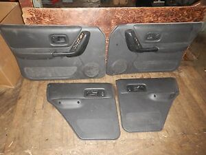 Jeep Cherokee Xj 97 01 Complete Interior Door Panel Set Agate Free Shipping