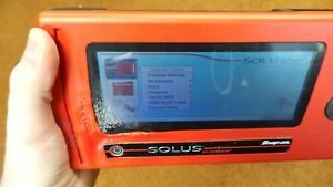Snap on Solus Eesc310 Automotive Diagnostic Scanner Tool 12 4 Damaged