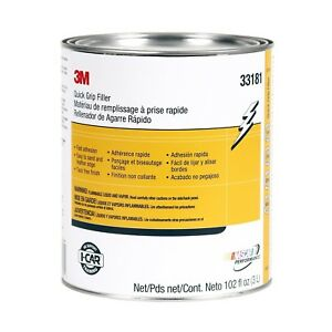 3m 33181 Quick Grip Auto Body Repair Filler Gallon