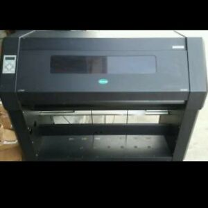 Summa Dc4sx Thermal Sign Graphics Printer W Cutter And 5 Ribbon Holders Parts