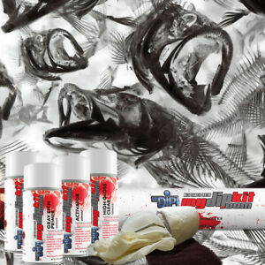 Hydrographic Film Kit Hydro Dipping Water Transfer Printing Fish Frenzy Rc 920