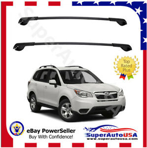 Fit For 2014 2019 Subaru Forester Oe Style Aero Cross Bars Top Roof Rack Luggae