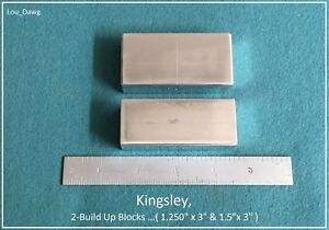 Kingsley Machine 2 build Up Blocks Hot Foil Stamping Machine