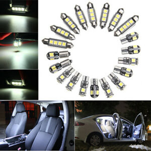 20x White Car Interior Led Light Bulb For Bmw 5 Series E39 525i 530i M 1997 2003