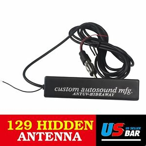 High Quality Car Hidden Amplified Antenna Kit 12v Stereo Radio For Dodge Ram