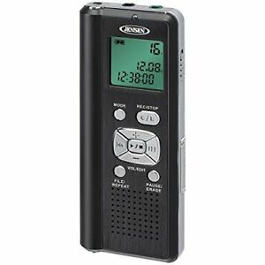 Jensen Dr115 Digital Voice Recorder With Micro Sd Card Slot