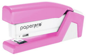 Paperpro Incourage Desktop Stapler Pink And White