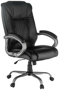 Deluxe Leather Big And Tall Chair