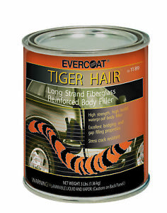 Fiberglass Evercoat 1189 Tiger Hair Fiberglass Reinforced Filler Quart