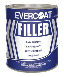 Fiberglass Evercoat 141 Easy Sanding Lightweight Body Filler Gallon