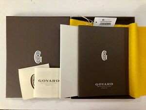 Goyard 2018 Agenda Planner Address Refill Book Set 100 Authentic Bnib