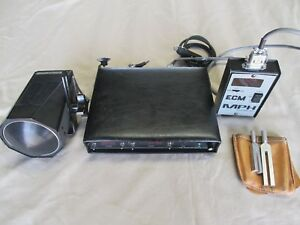 Original Mph K55 X Band Police Radar With Ecm And Tuning Forks refurbished nice