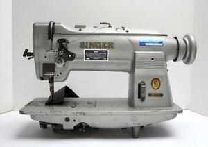 Singer 211g157 Needle Feed Lockstitch Industrial Sewing Machine Head Only