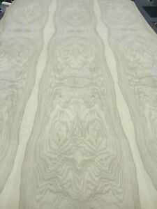 Olive Ash Burl Real Wood Veneer 48 X 96 With Paper Backer Aa Grade 1 40 Thick