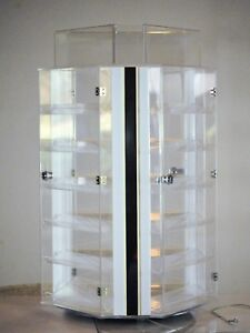 Acrylic 3 Panel Counter Top Sunglasses Acrylic Display Merchandiser