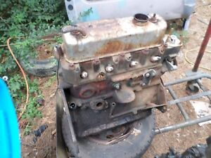 Mg Mgb Engine Block Cylinder Head 1975 80 Turns Over Easily