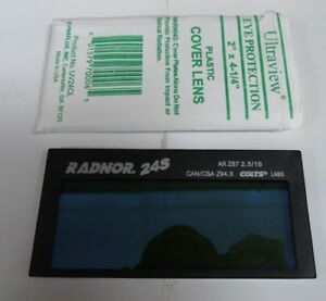 Radnor 24s Fixed Shade 10 Auto Darkening Welding Lens 2 X 4 1 4