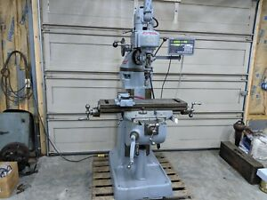Bridgeport 9 x 36 Vertical Milling Machine Digital Readout Phase Convertor