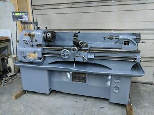 Clausing Colchester Engine Lathe 15 X 48 Dro Phase Converter 10hp