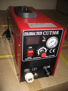 Plasma Cutter 50amp Cut50r Digital New Inverter 220v Includes 80 Consumables