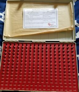 Vermont Gage 0 0115 0 2505 Diameter Plug And Pin Gage Free Shipping