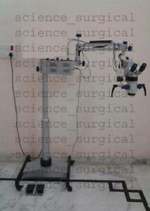 3 step Ent Surgical Operating Microscope On Floor Stands Made In India