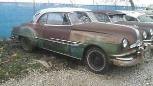 1952 Pontiac Chieftain 2 Dr Hardtop Parting Out Parts Only
