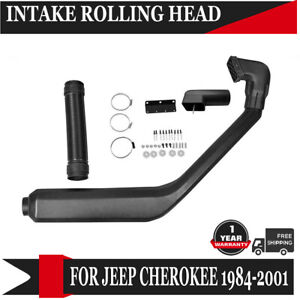 Fit 1984 2001 Jeep Cherokee Xj Cold Air Intake System Rolling Head Kit