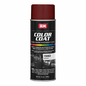 Sem 15063 Color Coat Burgundy Spray Paint Aerosol Can 12 Oz