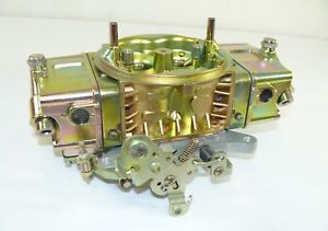 New 850cfm Double Pumper Carburetor 4150 Base Plate