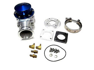 Obx Racing Sports Blue Universal 38mm Hellfire Blow Off Valve With 4 Bolt Flange