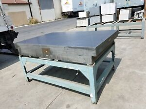 Surface Plate Granite With Stand 48 x96