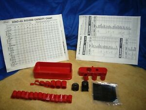 Lee Load All Bushings and Parts 28 Pieces NEW and Used