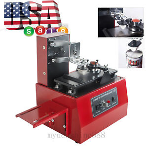 Us Professional Electric Pad Printer Printing Machine Simple Pattern Logo Coding