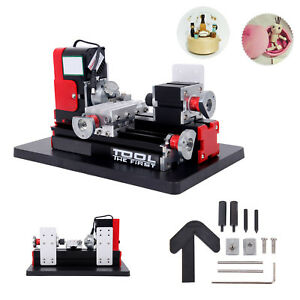 Mini Metal Lathe Motorized Machine Woodworking Model Making 20000rpm Motor Speed
