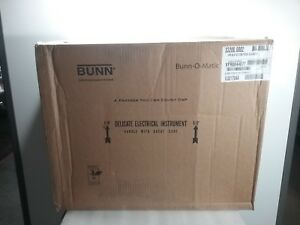 Bunn Coffee Maker 33200 0002 Vpr blk Comes With 2 Easy Pour Decanters