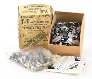 Flexco 1 1 4 E Conveyor Elevator Belt Fasteners Twenty Five Pack M7