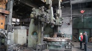 Vertical Boring Mill Craven 122 Swing