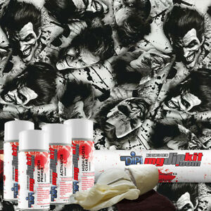Hydrographic Film Hydrographic Dip Kit Hydro Dipping Joker Reborn Dd 922