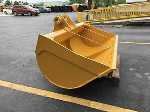 New 72 Caterpillar 315f Ditch Cleaning Bucket W Pins