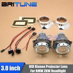 For Bmw 3 E46 Zkw D2s Headlight Repair Kit Retro Quick Bi Xenon Projector Lens