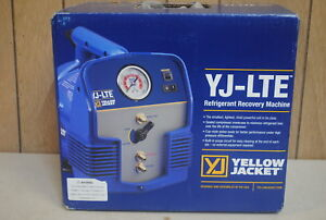 New Yellow Jacket Yj lte Refrigerant Recovery Unit