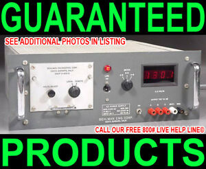Behlman 3 25 ad Variable Frequency 400hz 3 3 phase Ac Volts Power Supply Source