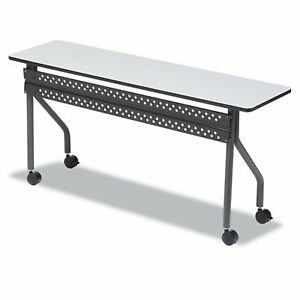 Officeworks Mobile Training Table 18 X 72 Gray