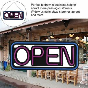 Ultra Bright Pvc Led Neon Light Animated Motion With On off Open Business Sign