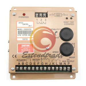 Generator Speed Controller Electrical Panels Governor New Esd5220