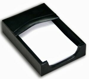 A1009 classic leather 4 x 6 memo holder